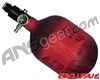 Empire Mega Lite 48/4500 Compressed Air Paintball Tank - Red