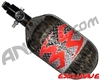 Empire Mega Lite 68/4500 Compressed Air Paintball Tank - Diamond Plate (Smoke)
