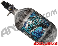 Empire Mega Lite 68/4500 Compressed Air Paintball Tank - Joker (Arctic/Grey)