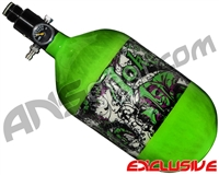 Empire Mega Lite 68/4500 Compressed Air Paintball Tank - Joker (Lime)