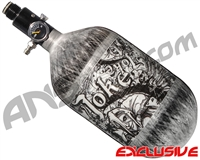Empire Mega Lite 68/4500 Compressed Air Paintball Tank - Joker (Negative/Grey)