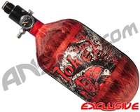 Empire Mega Lite 68/4500 Compressed Air Paintball Tank - Joker (Bloody Red/Bloody Red)