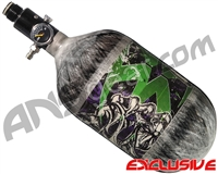 Empire Mega Lite 68/4500 Compressed Air Paintball Tank - Nightmare (Hulk/Grey)
