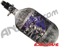 Empire Mega Lite 68/4500 Compressed Air Paintball Tank - Nightmare (Purple/Grey)