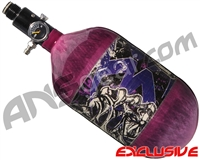 Empire Mega Lite 68/4500 Compressed Air Paintball Tank - Nightmare (Purple/Purple)