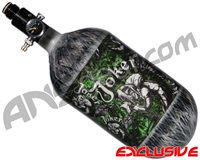 Empire Mega Lite 80/4500 Compressed Air Paintball Tank - Joker (Lime/Grey)