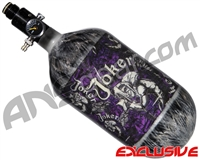 Empire Mega Lite 80/4500 Compressed Air Paintball Tank - Joker (Purple/Grey)