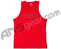 Empire Tank Top - Red