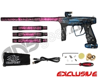 Empire Vanquish GT Paintball Gun - Polished Acid Wash Cotton Candy