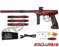 Empire Vanquish GT Paintball Gun - Polished Acid Wash Dark Lava