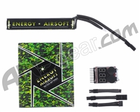 Energy LiPo 11.1v 1400mAh Tactical Airsoft Battery