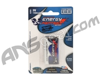 Energy Paintball 9V 1100mAh Alkaline Battery - Single