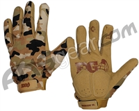 Enola Gaye FU Paintball Gloves - Desert Camo