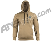 Enola Gaye Desert Storm Pull Over Hooded Sweatshirt - Tan