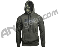 Enola Gaye Jubilex Pull Over Hooded Sweatshirt - Olive