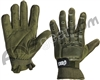 Enola Gaye Full Finger Paintball Gloves - Green