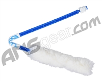 Exalt Paintball Barrel Maid Swab - Arctic (White/Blue)