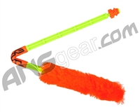 Exalt Paintball Barrel Maid Swab - Citrus (Orange/Lime)