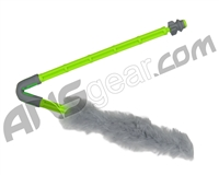 Exalt Paintball Barrel Maid Swab - Lime/Grey