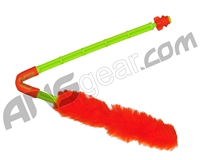 Exalt Paintball Barrel Maid Swab - Lime/Orange