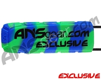 Exalt Bayonet Barrel Cover - ANSgear Blue/Green Swirl