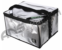 Exalt Paintball Case Cooler - Silver/Black
