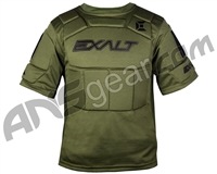 Exalt Alpha Paintball Chest Protector - Olive