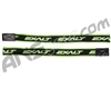 Exalt Elbow FreeFlex Replacement Straps - Black/Lime