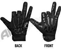 Exalt Death Grip Paintball Gloves - Black