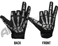 Exalt Death Grip Paintball Gloves - Grey