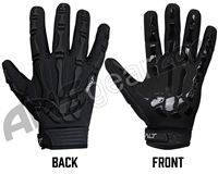 Exalt Death Grip Full Finger Paintball Gloves - Black