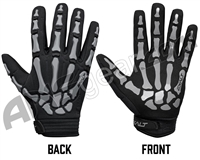Exalt Death Grip Full Finger Paintball Gloves - Grey