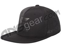 Exalt Stealth Snap Back Hat - Black