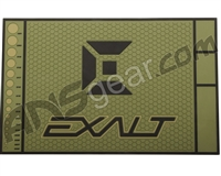 Exalt HD Rubber Paintball Tech Mat - Army Olive