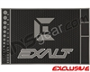 Exalt HD Rubber Paintball Tech Mat - Black/Grey