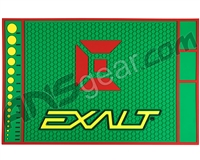 Exalt HD Rubber Paintball Tech Mat - Rasta
