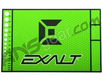 Exalt HD Rubber Paintball Tech Mat - Slime Green