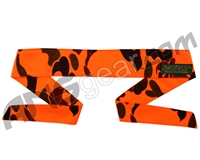 Exalt Camouflage Headband - Blaze Orange Woodland