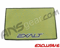 Exalt Microfiber Zig Zag Player Goggle Cloth - Orange/Teal
