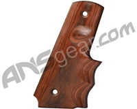 Exalt Retro Hardwood 45 Grips - Brown
