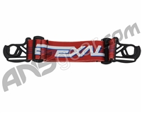 Exalt E-Vents Goggle Strap - Retro - Red/Blue