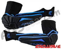 Exalt T3 Elbow Pads - Black/Blue