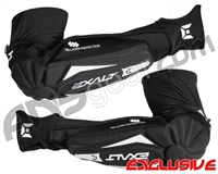 Exalt T3 Elbow Pads - Black/White