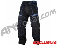 Exalt T4 Paintball Pants - Black/Blue