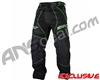 Exalt T4 Paintball Pants - Black/Lime