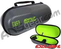 Exalt Universal Carbon Tank Case - Charcoal/Lime