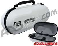 Exalt Universal Carbon Tank Case - White/Grey