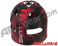 Exalt Tank Grip - Luxe Black/Red Swirl