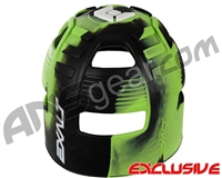 Exalt Tank Grip - Black/Lime/White Swirl