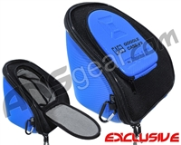 Exalt V3 Universal Carbon Goggle Case - Blue/Grey